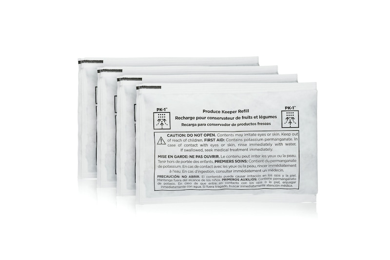 Includes 4 Refill Packets For a 1 year Supply