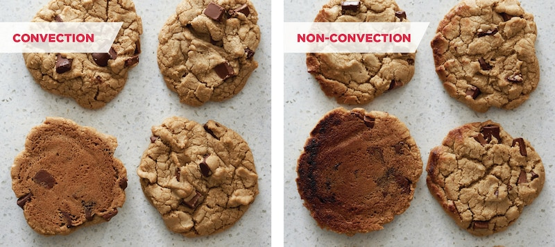 Faster, more even baking results with True Convection