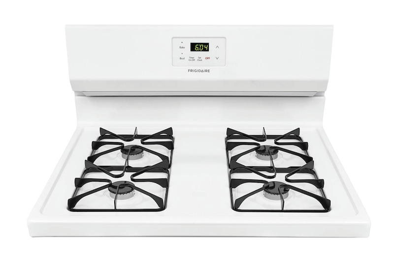 Easy cooktop cleanup with sealed gas burners