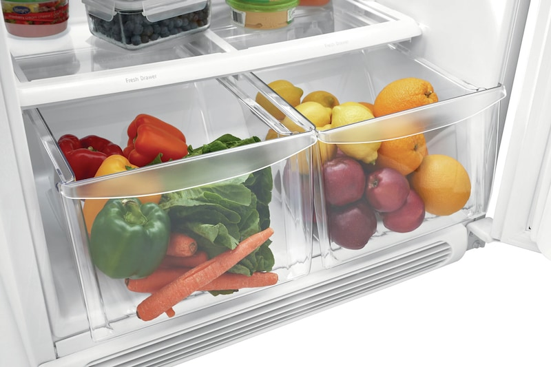 Store-More® Humidity-Controlled Crisper Drawers