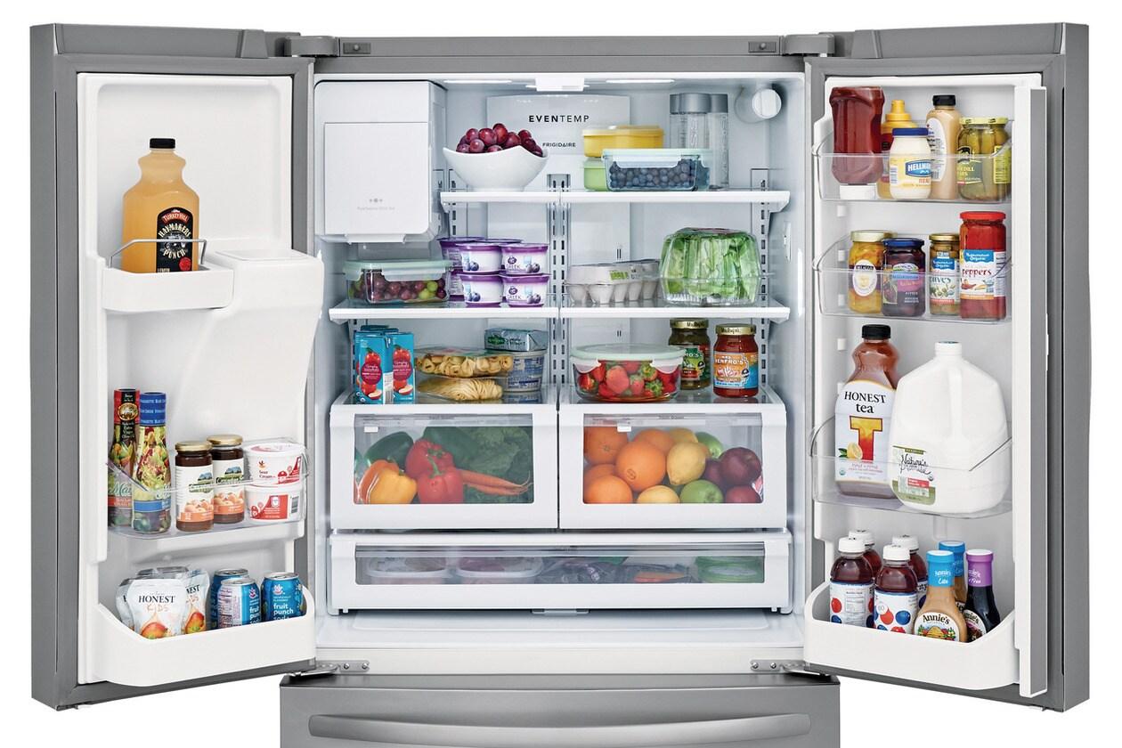 Model: FFHB2750TS | Frigidaire 26.8 Cu. Ft. French Door Refrigerator