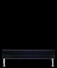 Frigidaire Black Slide-In or Drop-In Range Adjustable Metal Backguard