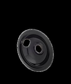 Smart Choice Cuvette ramasse-gouttes en porcelaine de 6 po noire