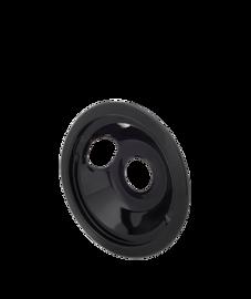 Smart Choice Cuvette de brûleur noire enrcelaine de 6 po