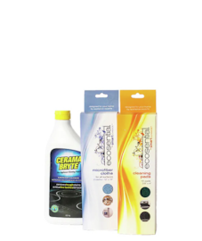 Cerama Bryte Glass and Ceramic Cooktop Cleaning Kit