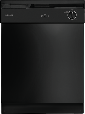 Frigidaire 24 Built In Dishwasher Black Fbd2400kb
