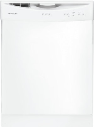 Frigidaire 24 Built In Dishwasher White Ffbd2406nw