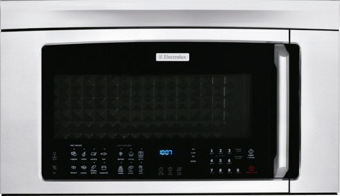 Electroluxna 30 Over The Range Convection Microwave Oven With Bottom Controls Ei30bm60ms Model Support Page