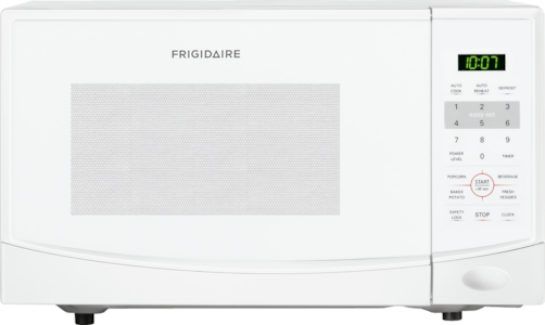 0.9 Cu. Ft. Countertop Microwave White FFCM0934LW