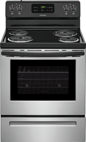 """30"""" Electric Range Stainless Steel FFEF3016TS"""
