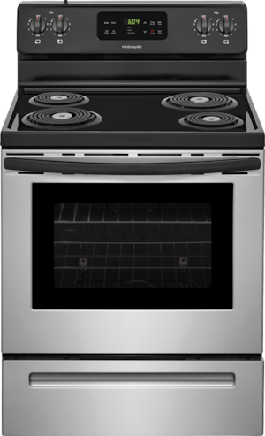 """30"""" Electric Range Stainless Steel FFEF3016US"""