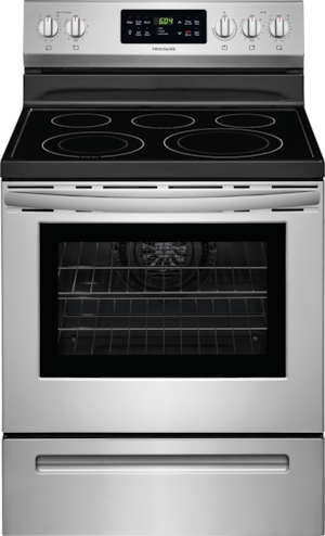 """30"""" Electric Range Stainless Steel FFEF3056TS"""