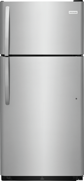 18 Cu. Ft. Top Freezer Refrigerator Stainless Steel FFHT1821TS