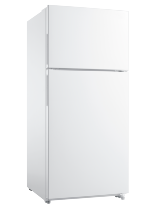 18.0 Cu. Ft. Top Freezer Refrigerator White FFHT1824UW