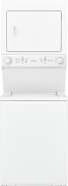 Electric Washer/Dryer Laundry Center - 3.9 Cu. Ft Washer and 5.5 Cu. Ft. Dryer White FFLE3900UW