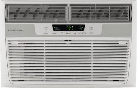 6,000 BTU Window-Mounted Room Air Conditioner White FFRA0622S1