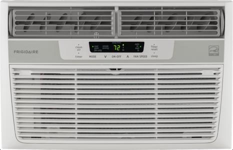 8,000 BTU Window-Mounted Room Air Conditioner White FFRE0833Q1
