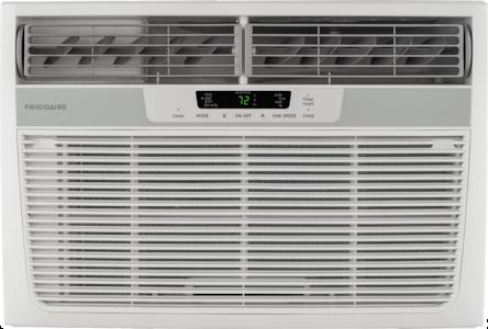12,000 BTU Window-Mounted Room Air Conditioner with Supplemental Heat White FFRH1222R2