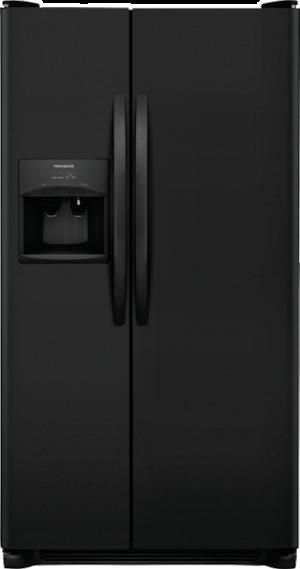 25.5 Cu. Ft. Side-by-Side Refrigerator Ebony Black FFSS2615TE
