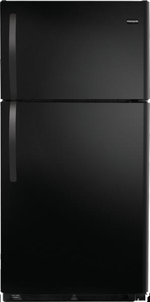 15 Cu. Ft. Top Freezer Refrigerator Black FFTR1514RB