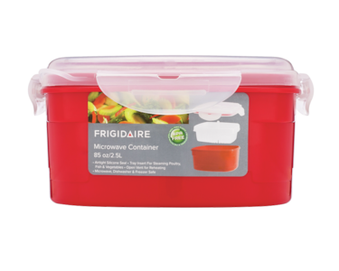 Frigidaire 2.5L Microwave Container with Steamer Insert