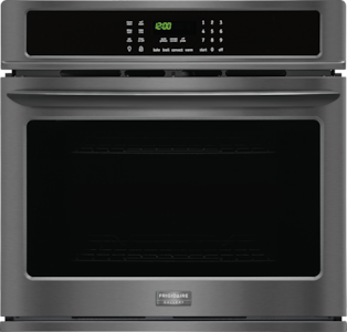 """30"""" Single Electric Wall Oven Black Stainless Steel FGEW3065PD"""