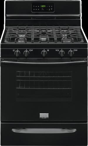 "30"" Freestanding Gas Range Black FGGF3035RB"