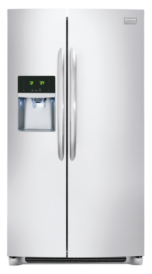 22.2 Cu. Ft. Counter-Depth Side-by-Side Refrigerator Stainless Steel FGHC2355PF