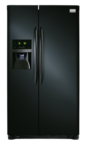 25.6 Cu. Ft. Side-by-Side Refrigerator Ebony Black FGHS2631PE