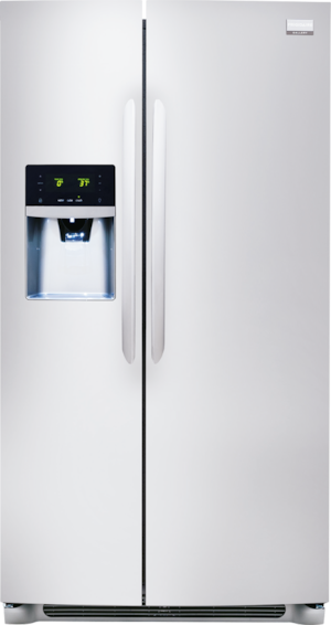 25.6 Cu. Ft. Side-by-Side Refrigerator Stainless Steel FGHS2631PF