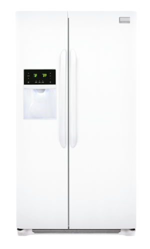 25.6 Cu. Ft. Side-by-Side Refrigerator Pearl White FGHS2631PP