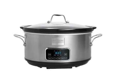 7-Quart Programmable Slow Cooker Stainless Steel FPCP07D7MS