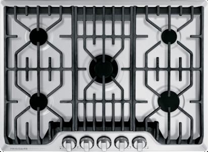 Frigidaire Professional Table de cuisson au gaz de 30po avec plaque chauffante