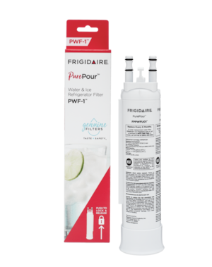 PurePour™ Water and Ice Refrigerator Filter PWF-1™ White FPPWFU01