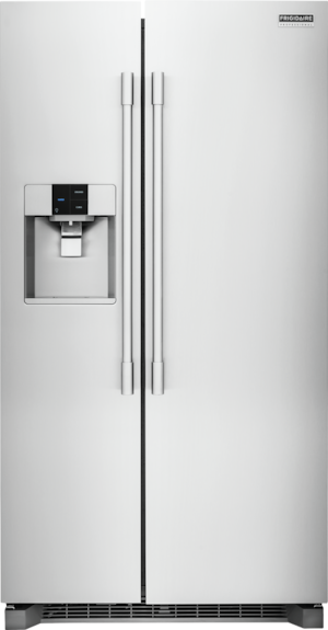 22.6 Cu. Ft. Counter-Depth Side-by-Side Refrigerator Stainless Steel FPSC2277RF