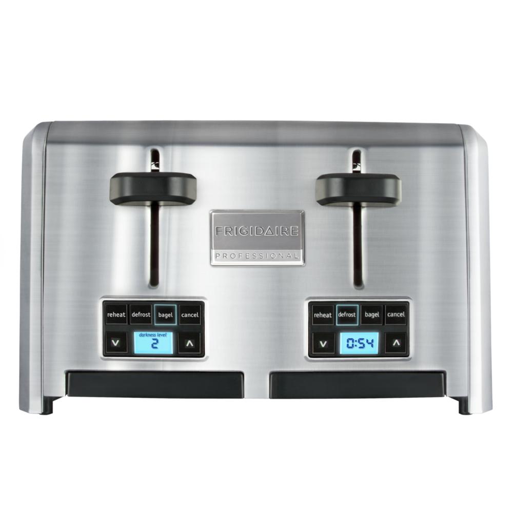 4-Slice Wide Slots Toaster Stainless Steel FPTT04D7MS