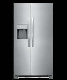 Frigidaire Réfrigérateur côte à côte de 25,6pi³ d'une profondeur standard de 36 po