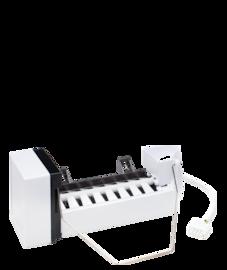 Frigidaire Machine à glaçons pour réfrigérateur dans le bas avec porte à deux battants, profondeur standard