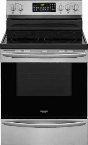 "30"" Electric Range Stainless Steel LGEF3046TF"