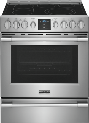 Frigidaire Professional 30'' Front Control Freestanding Air Fry Range