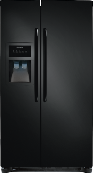 22.1 Cu. Ft. Side-by-Side Refrigerator Ebony Black FFHS2313LE