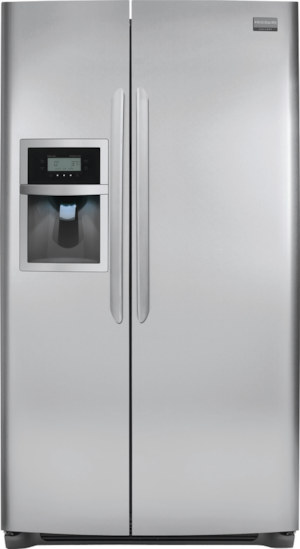 26 Cu. Ft. Side-by-Side Refrigerator Stainless Steel FGUS2645LF