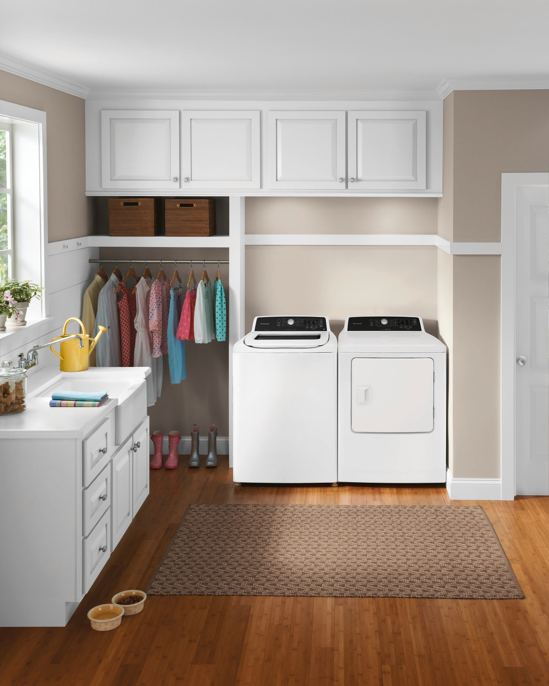 4.1 Cu. Ft. High Efficiency Top Load Washer White FFTW4120SW
