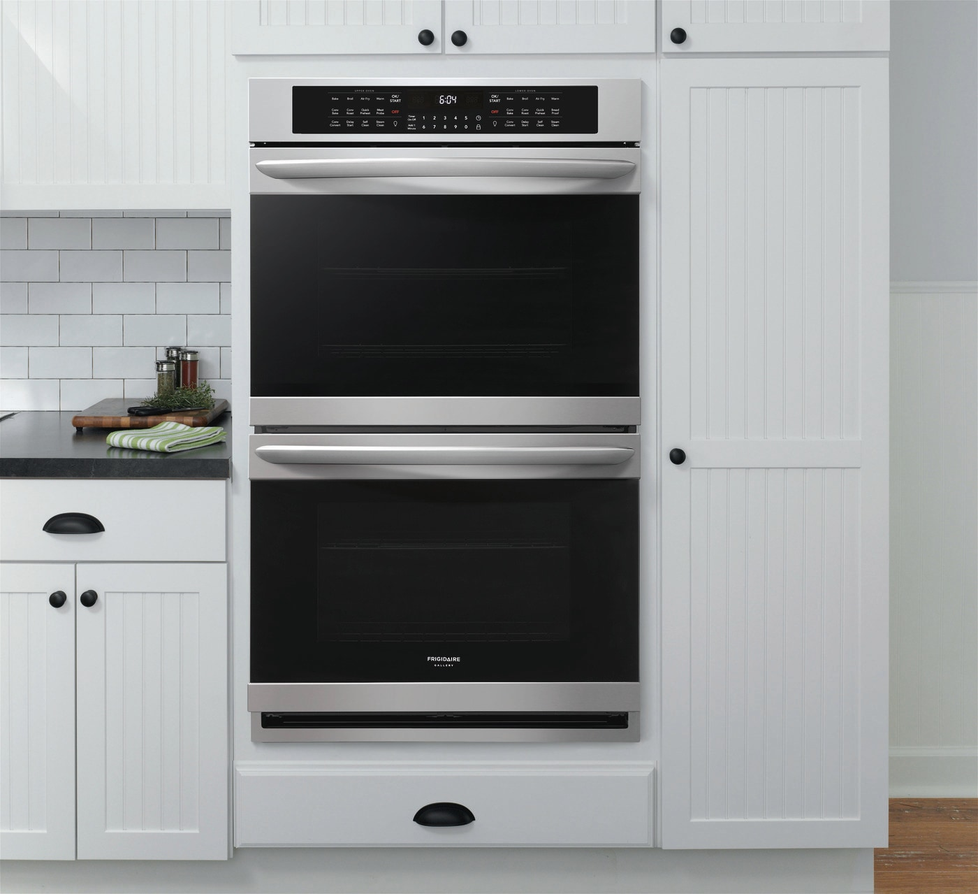 "30"" Double Electric Wall Oven with Air Fry Stainless Steel FGET3069UF"