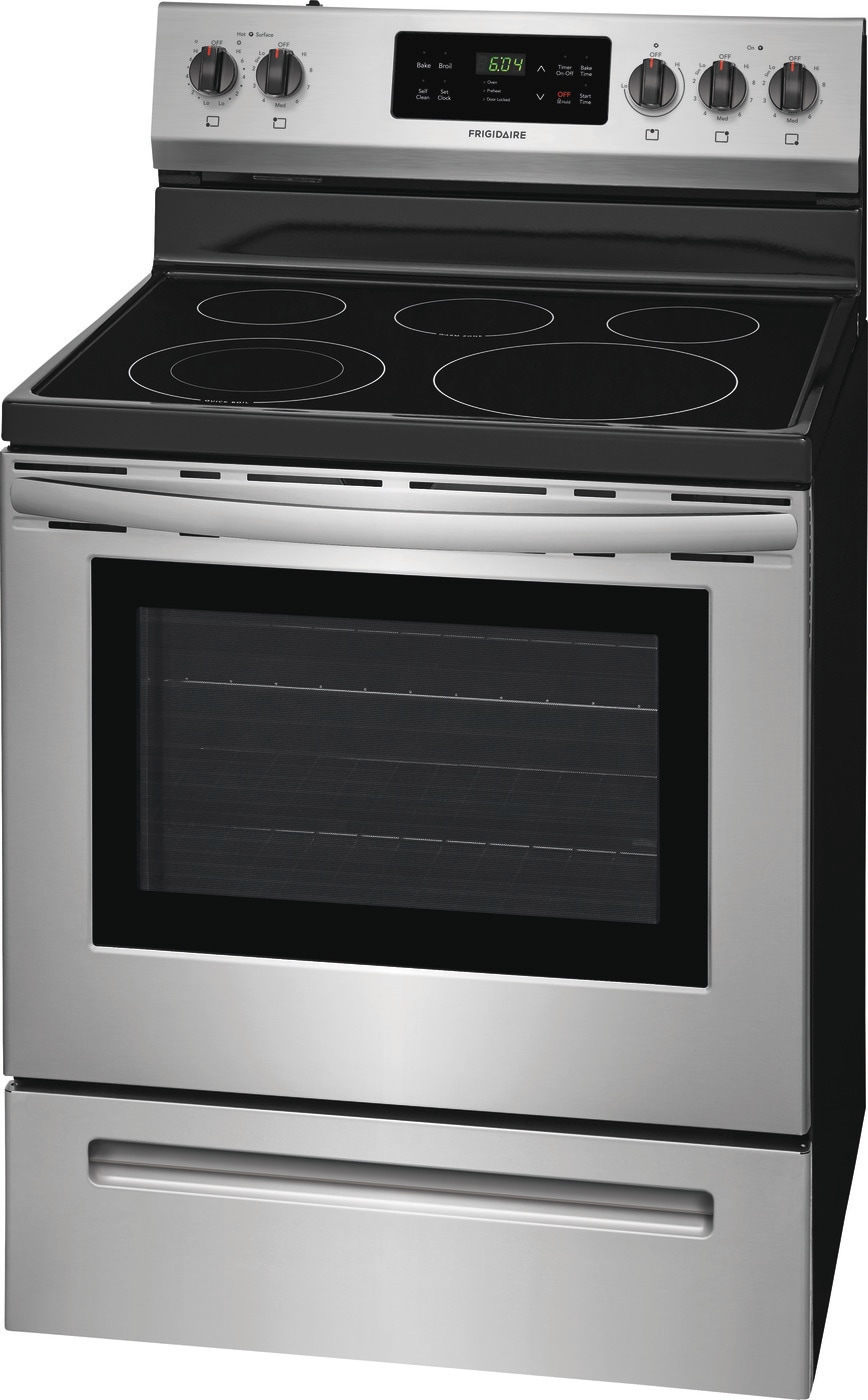 "30"" Electric Range Stainless Steel CFEF3054US"