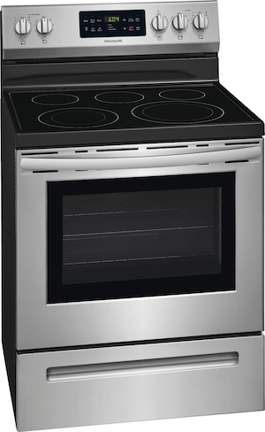 """30"""" Electric Range Stainless Steel CFEF3056US"""