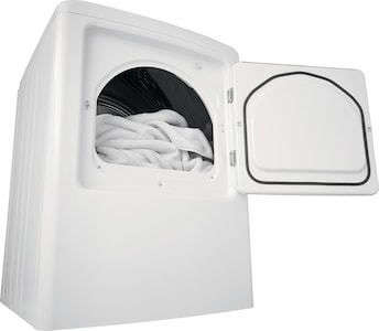 6.7 Cu. Ft. High Efficiency Free Standing Electric Dryer White CFRE4120SW
