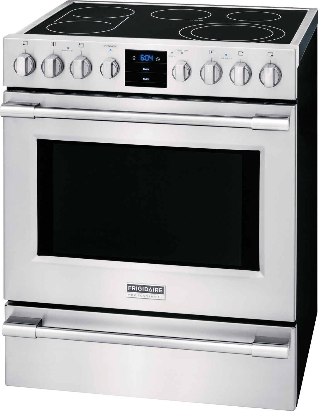 "30"" Electric Front Control Freestanding Stainless Steel CPEH3077RF"