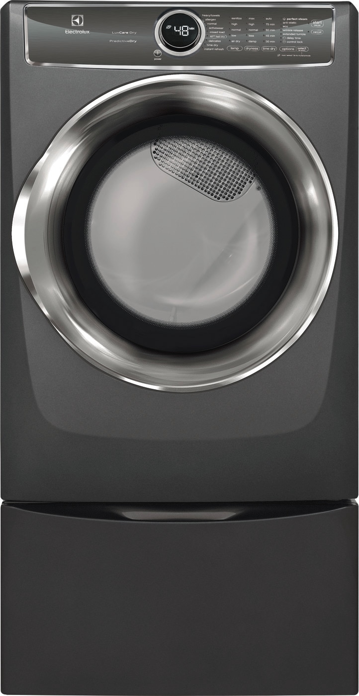 Electrolux Front Load Perfect Steam™ Gas Dryer with PredictiveDry™ and Instant Refresh - 8.0. Cu. Ft.