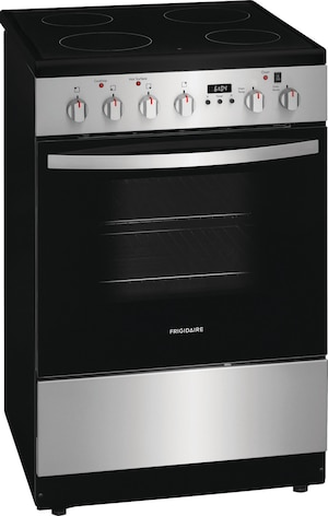 """24"""" Freestanding Electric Range Stainless Steel FCFE2425AS"""